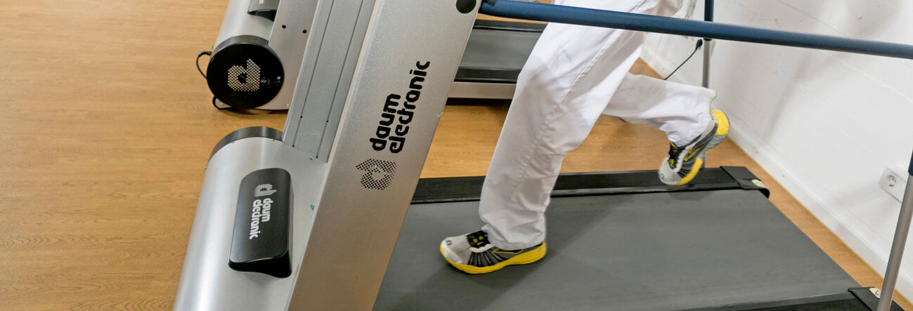 Diabetes-Sportstudio in Münster, Laufband